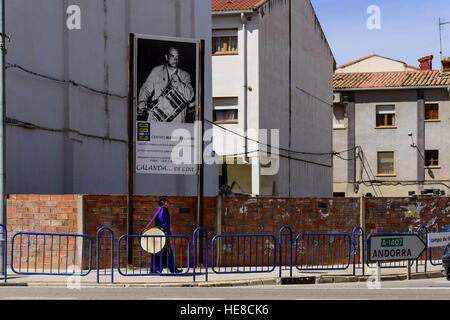 Holy week celebration in Calanda, Spain - Stock Photo