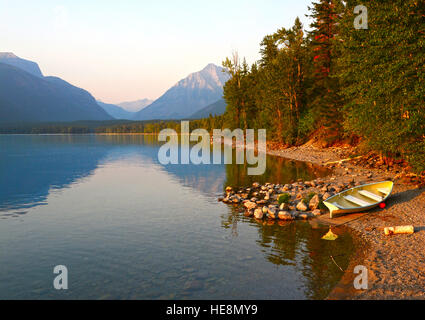 Lake McDonald, Montana, USA - Stock Photo