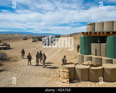 U.S. Marines assigned to Combat Logistics Battalion 13, 4th Marne Regiment, Marine Corps Base Camp Pendleton, Calif., - Stock Photo