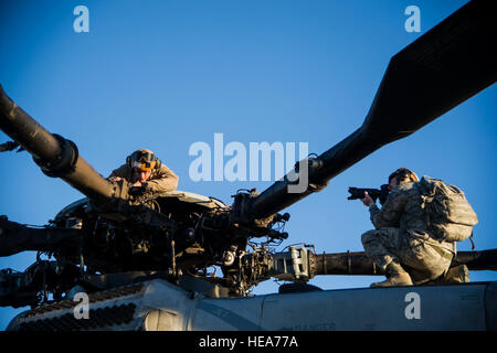 U.S. Air Force Staff Sgt. Kyle Brasier, photojournalist with 4th Combat Camera Squadron, March Air Reserve Base, - Stock Photo