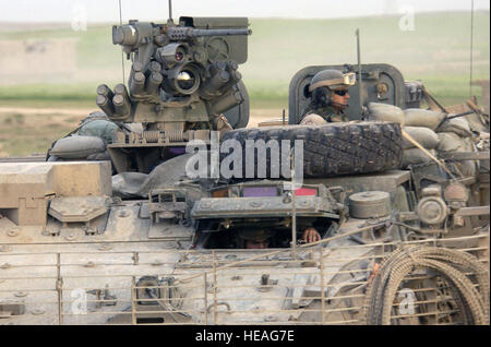 US Army (USA) Soldiers from 2nd Platoon (PLT), Bravo (B) Company (CO), 1st Battalion (BN), 5th Infantry (INF), 25th - Stock Photo