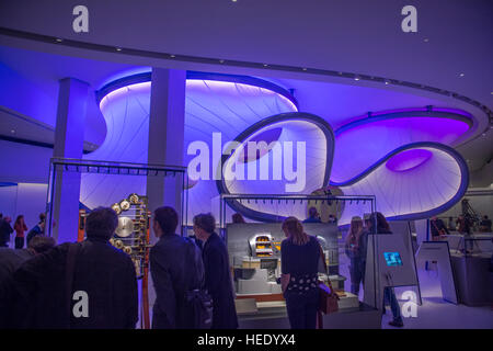 Science Museum, London, UK. 7th December 2016. Mathematics The Winton Gallery, press preview, designed by Zaha Hadid - Stock Photo