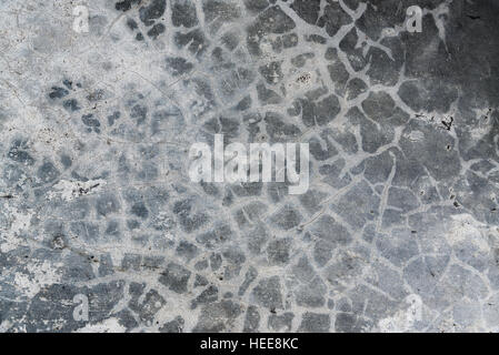 Polished old grey concrete floor texture background. - Stock Photo