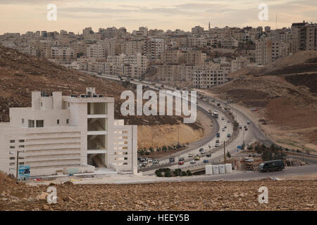 City scene - Amman, Jordan. - Stock Photo