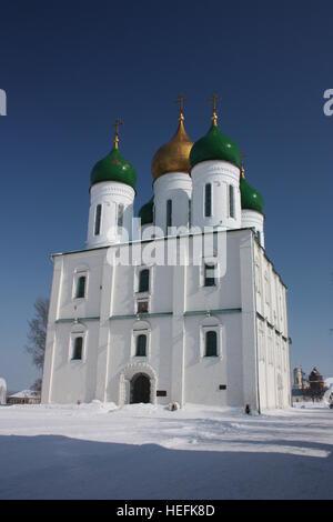 Uspenskiy Cathedral in Kolomna Kremlin. Russia, Kolomna. - Stock Photo