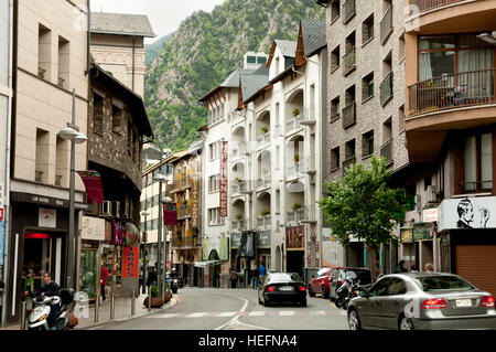 Andorra La Vella - Andorra - Stock Photo