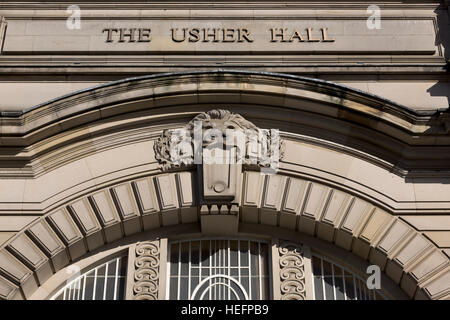 Usher Hall, Edinburgh, Scotland - Stock Photo