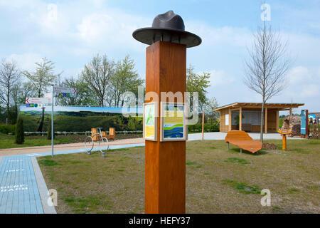Deutschland, Nordrhein-Westfalen, Kreis Euskirchen, Zülpich, Landesgartenschau, - Stock Photo