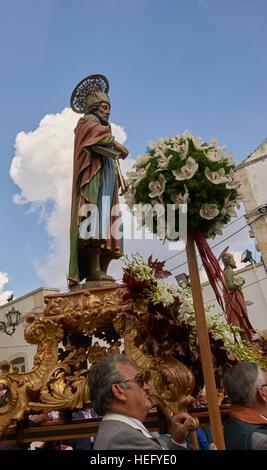 Photo Needs Community outdoor religious festival in Italy, Santi dei Medici - Stock Photo