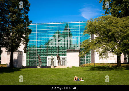 DEU, Germany, Ruhr area, Essen, the Philharmonie, Saalbau. - Stock Photo