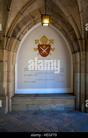 DEU, Germany, Ruhr area, Essen, the cloister of the cathedral. - Stock Photo