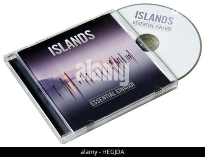 Islands - Essential Einaudi CD by Ludovico Einaudi - Stock Photo
