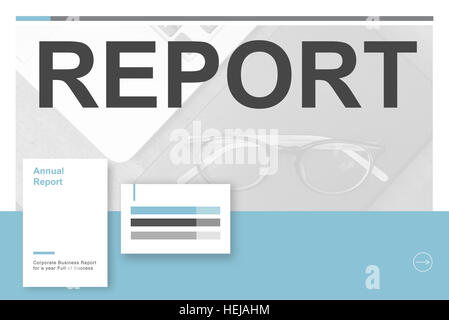 Performance Analysis Progress Report Summary Concept Stock Photo