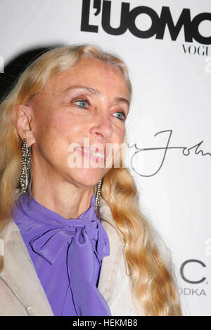 File. 22nd Dec, 2016. FRANCA SOZZANI (January 20, 1950 - December 22, 2016) was an Italian journalist and the editor - Stock Photo