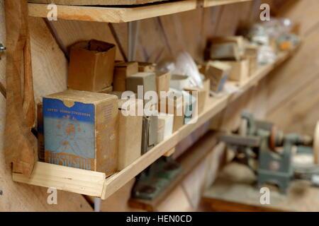Carpenter's Shelf - Stock Photo