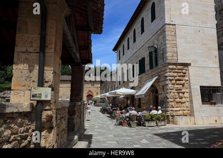 Italien, Therme Bagno Vignon in der Provinz Siena, Region Toskana - Stock Photo