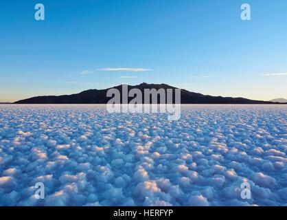 Salar de Uyuni, salt flat, Daniel Campos Province, Potosi, Bolivia - Stock Photo