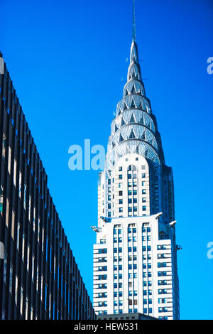 Chrysler Building, New York City, New York, USA - Stock Photo