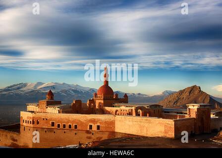Ishak Pasha Palace,Dogu Beyazit,Agri, Turkey country