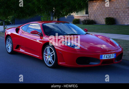 2006 Ferrari F430 Berlinetta F1 2dr Coupe Overview  The Ferrari F430 is part of the rich automotive performance - Stock Photo