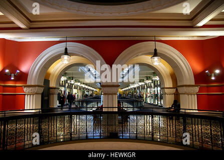 The Queen Victoria Building, is a late nineteenth-century building designed by the architect George McRae in the - Stock Photo