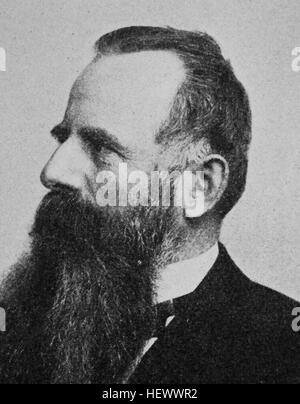 Arthut Adolf Graf von Postelwitz, Posadowsky - Wehner, born 1845, states man and politican, Krator der Reichsbank, - Stock Photo