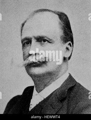 Joseph Maria Ernst Christian Wilhelm von Radowitz, February 6, 1797 - 25 December 1853, was a conservative Prussian - Stock Photo