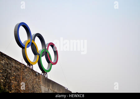 Olympics Rings - Stock Photo