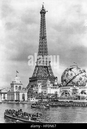 1900 WORLD'S FAIR, Paris. - Stock Photo