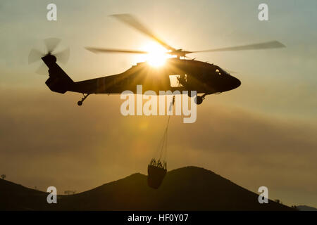 Utah National Guard Detachment 2, Company C, 1st General Support Aviation Battalion, 171st Aviation Regiment from - Stock Photo