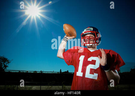 Austin Allen from Fayetteville High School in Fayetteville, Ariz., is one of 100 high school students selected to - Stock Photo