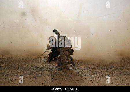U.s. Marine Corps Cpl. Daniel Hopping, An Assaultman With Weapons ...