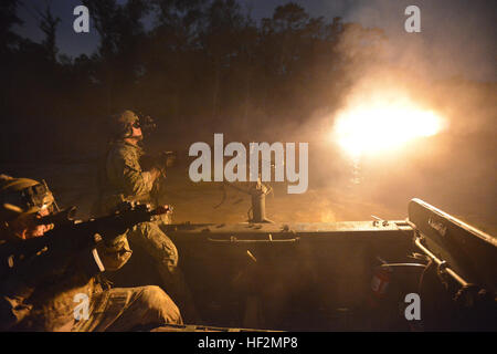 U.S. Army National Guard soldiers with the 2nd Battalion, 20th Special Force Group (Airborne), out of Jackson, Miss., - Stock Photo