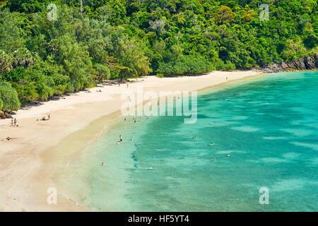 Beach at Ko Lanta National Park, Krabi Province, Thailand - Stock Photo