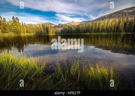 Sylvan Lake, Wyoming, USA - Stock Photo