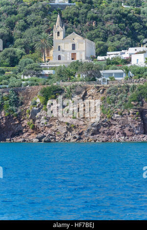 Panarea island, Panarea, Aeolian Islands, Sicily, Italy, Europe, - Stock Photo