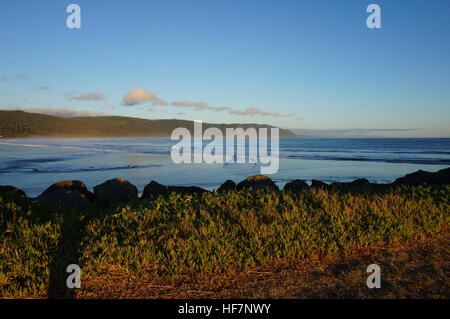 Pacific Ocean View from Rural Northern California - Stock Photo