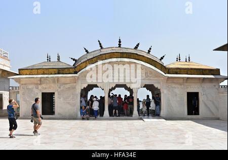 UNESCO World Heritage site Agra Fort - Stock Photo