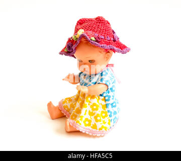 The Miniature mechanic isolated toy. - Stock Photo