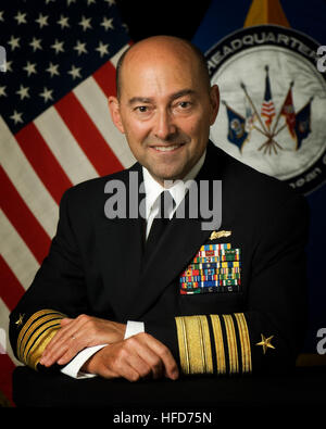 Admiral Stavridis -- first navy admiral to become SACEUR     2 July 2009     MONS, Belgium — Admiral James Stavridis - Stock Photo