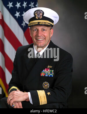 040811-N-0000X-001 U.S. Navy file photo of U.S. Navy Rear Adm. Michael Lefever. Lefever has been designated to establish - Stock Photo