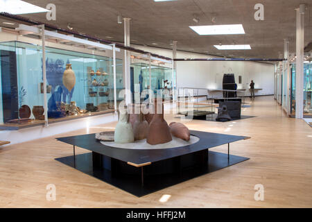 Germany, Haltern am See, the LWL Roman Museum. The museum shows the most important finding of Roman camps along - Stock Photo