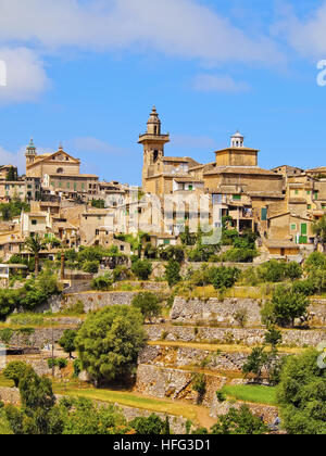 Valldemossa, Mallorca, Balearic Islands, Spain - Stock Photo