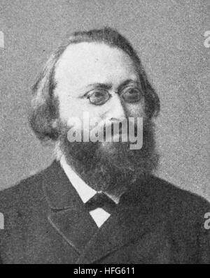 Max Christian Friedrich Bruch, 1838 - 1920, also known as Max Karl August Bruch, was a German Romantic composer - Stock Photo