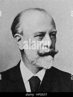 Julius Wolff, 1834 - 1910, was a German writer and poet. He enjoyed great popularity in Germany during the Gruenderzeit., - Stock Photo