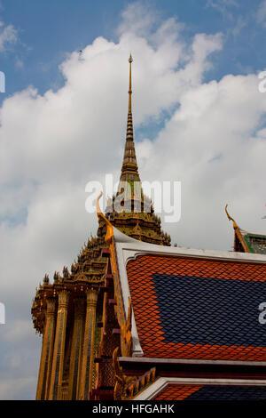 The Grand Palace in Bangkok - Stock Photo