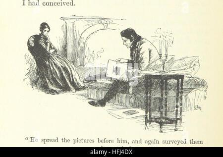 Image taken from page 204 of 'Jane Eyre' Image taken from page 204 of 'Jane Eyre' - Stock Photo