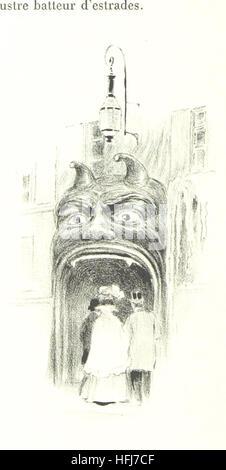 Image taken from page 212 of 'La Vie à Montmartre. Illustrations de P. Vidal' Image taken from page 212 of 'La - Stock Photo