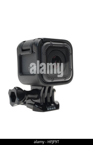 GoPro Hero 5 Session digital 4K high definition video camera 2016 - Stock Photo