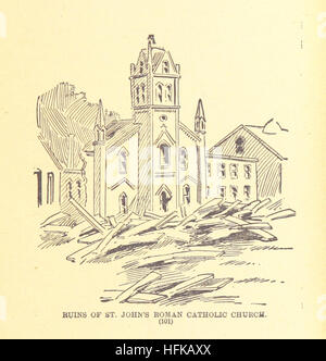 History of the Great Flood in Johnstown, Pa., May 31, 1889, etc Image taken from page 117 of 'History of the Great - Stock Photo